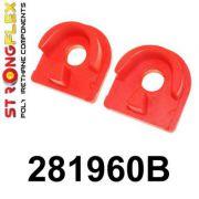 281960B: Gearbox mount inserts
