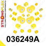 036248A: Sada silentblokov - predná a zadná náprava SPORT