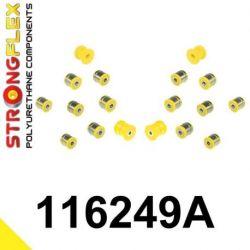 116249A: Rear suspension bush kit SPORT