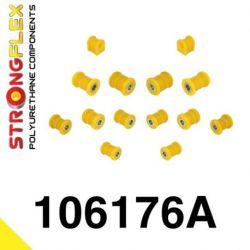 106176A: Rear suspension bush kit SPORT