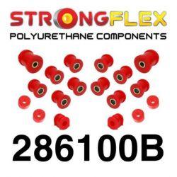 286100B: Set of rear suspension polyurethane