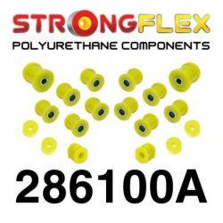 286100A: Set of rear suspension polyurethane SPORT