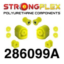 286099A: Set of front suspension polyurethane SPORT