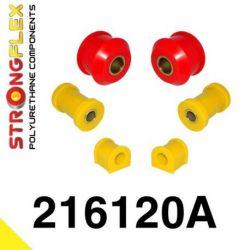 216120A: Front suspension polyurethane bush kit sport