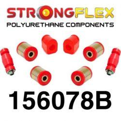 156078B: Front kit suspension polyurethane bushes