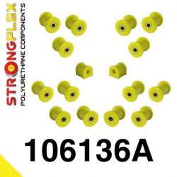 106136A: Rear suspension polyurethane bush kit SPORT