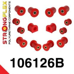 106126B: Front suspension polyurethane bush kit
