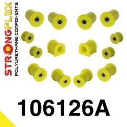 106126A: Front suspension polyurethane bush kit SPORT