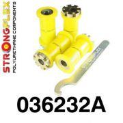 036232A: Rear trailing arm bush kit eccentric SPORT